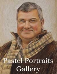 Gallery of pastels of people by Nina Squire
