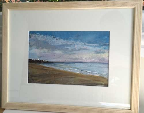 pastel paintings of Dorset
