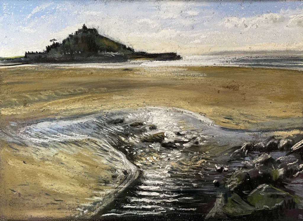 At Micheal's mount