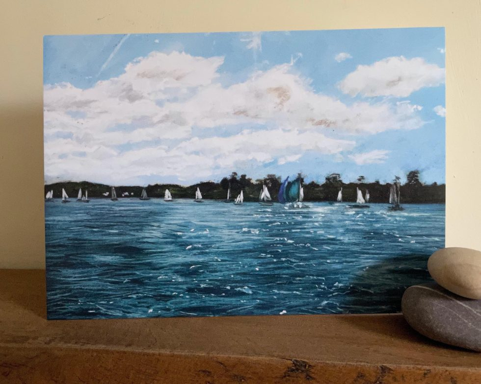 regatta sailing boats