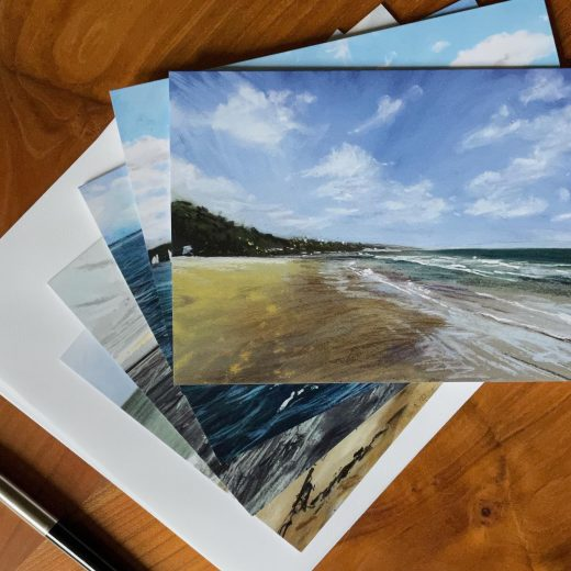 Pack of 5 Seascape cards