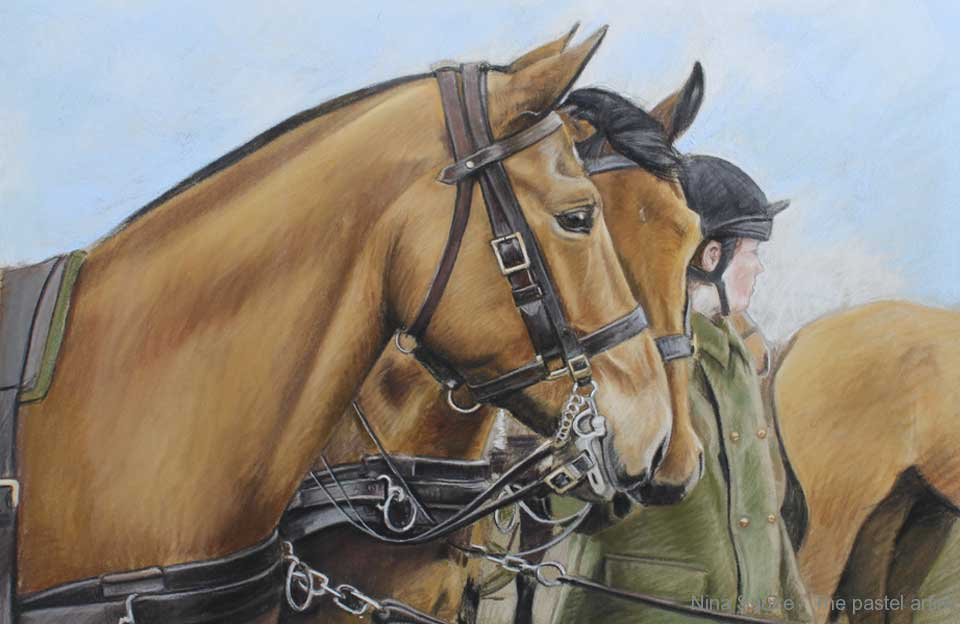 Portrait of The Kings Troop by Nina Squire